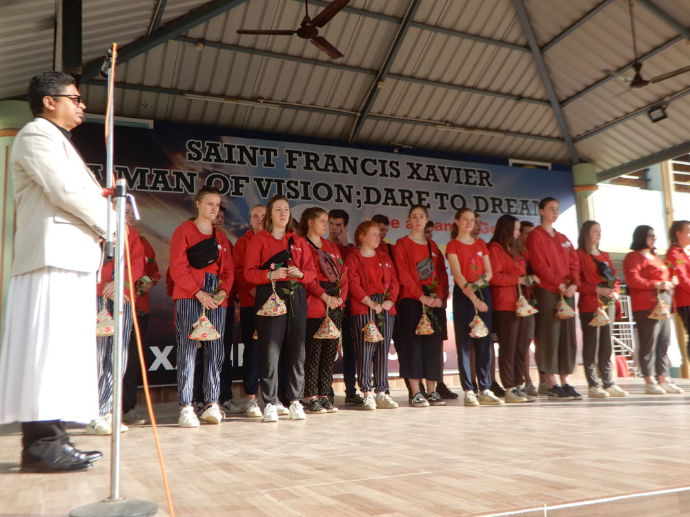 CULTURAL EXCHANGE PROGRAMME BELGIUM STUDENTS TO SXD RANCHI (2019-20)
